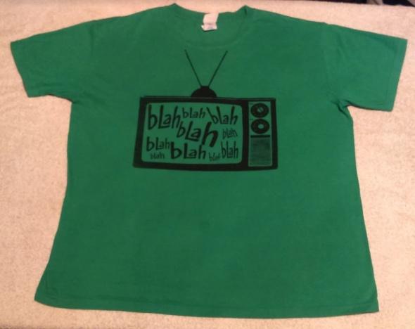 Koszulka Gildan zielona...