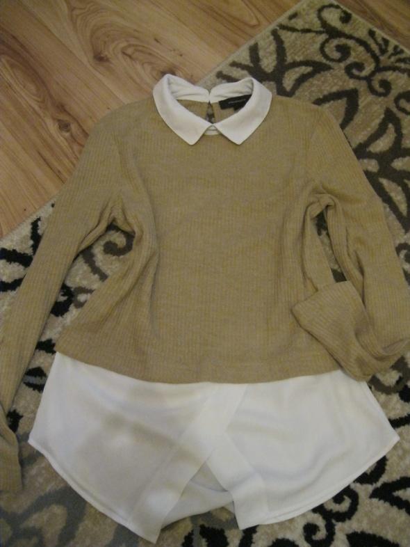 bluzka sweterek z kołnierzykiem ATMOSPHERE 38...