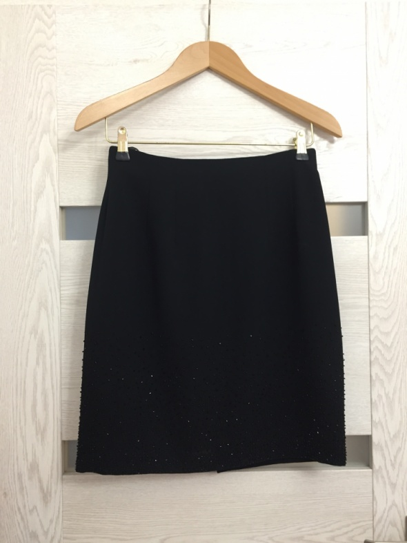 Czarna klasyczna spódnica Next