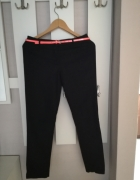 Czarne casualowe spodnie Camaieu 34...