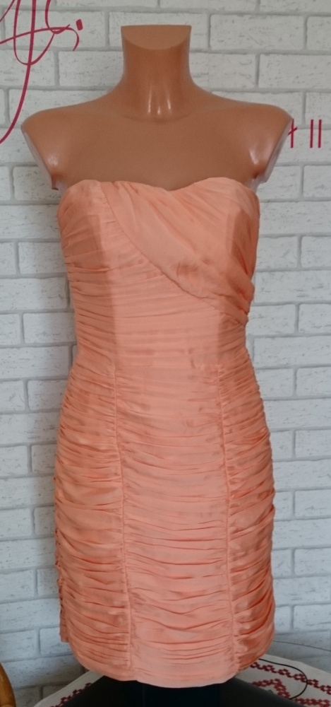 Suknie i sukienki Piękna sukienka pomarańczowa H&M 36 S NOWA z metkami