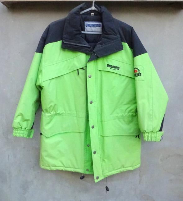 Kurtka narciarska zielona neonowa SportsWear...