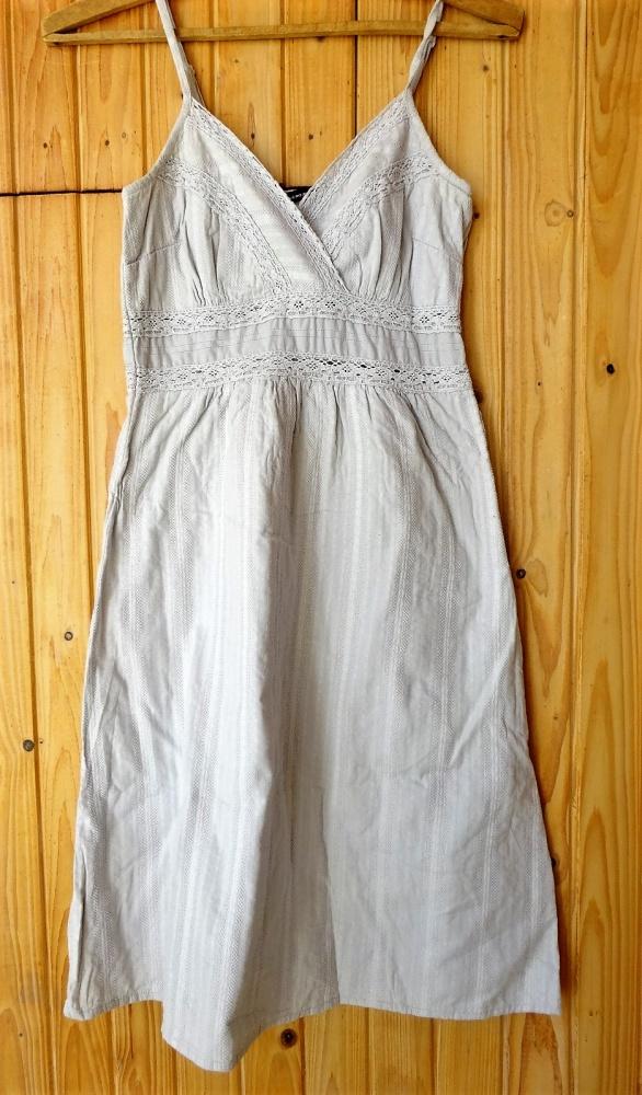 sukienka szara na ramiączkach Vero Moda s 36...