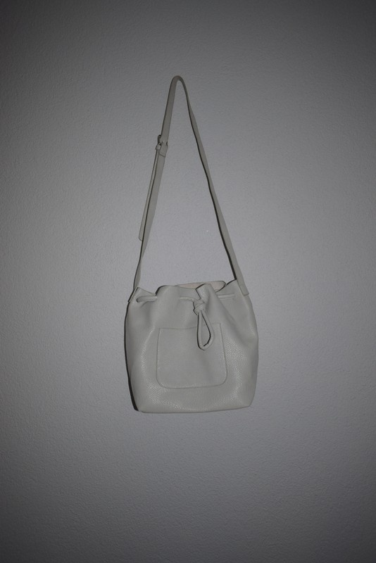 szara torba worek shopper bag