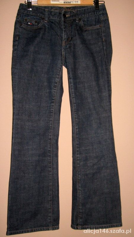 TH Tommy Hilfiger Low Rise spodnie jeansy S...