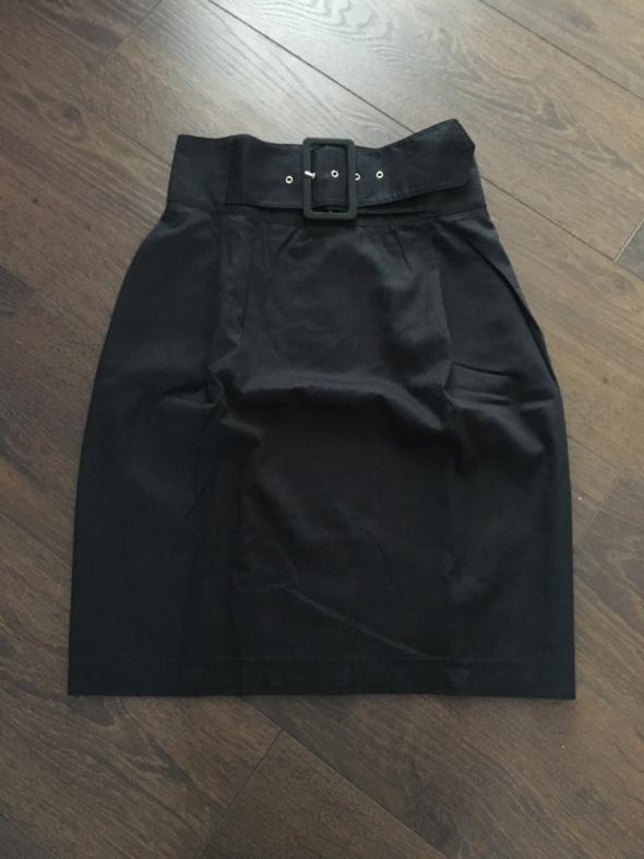 Spódnica czarna studniówka H&M Zara 34 XS wysoki stan czarna