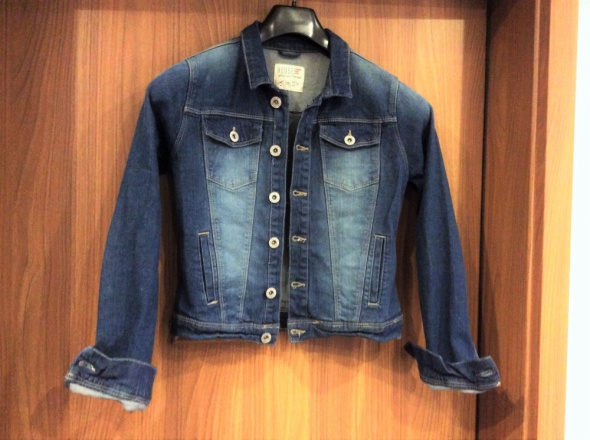 Katana kurtka jeans guziki