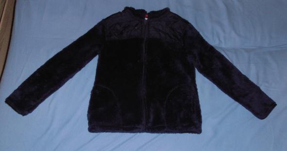 Ocieplana bluza z kapturem granatowa 140146 Young Style...