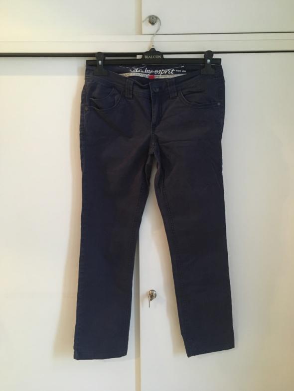 granatowe spodnie 7 8 Esprit 38