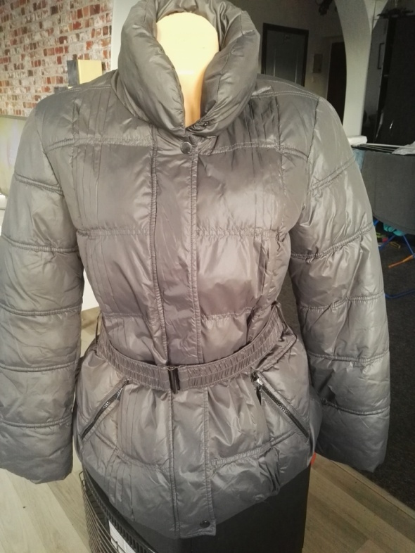 RESERVED ocieplany lekki płaszcz kurtka zimowa...