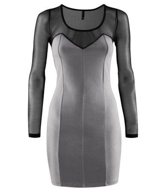 H&M sukienka gorset rozm M