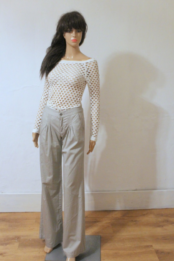 Eleganckie spodnie Calvin Klein dzwony r XS...