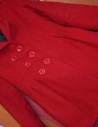 czerwony płaszczyk rozm S M