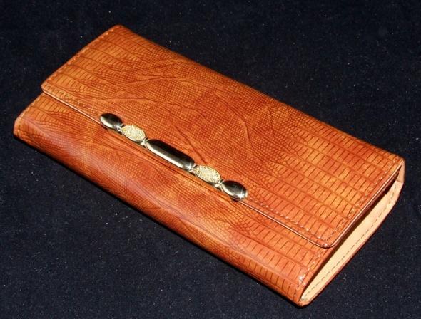 Portfele nowy elegancki portfel