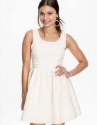 nowa sukienka s biała cream