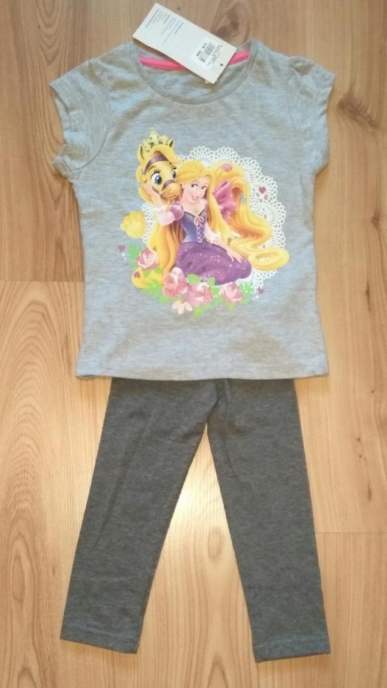 Bluzeczka z Rozszpunką i leginsy rozm 92 Disney