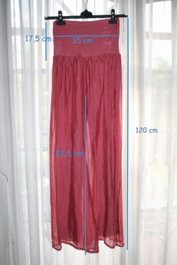 Unisono spodnie jedwabne