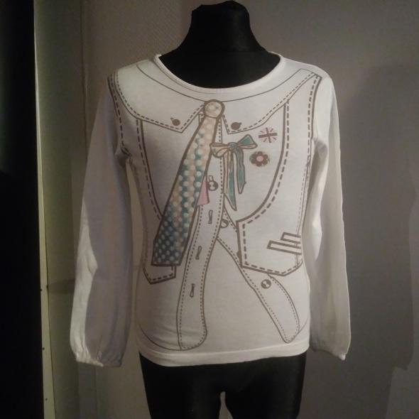 biała bluzka 116