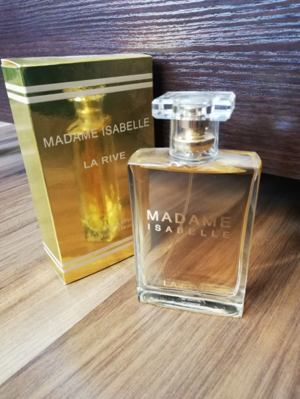 Perfumy madame Isabelle...