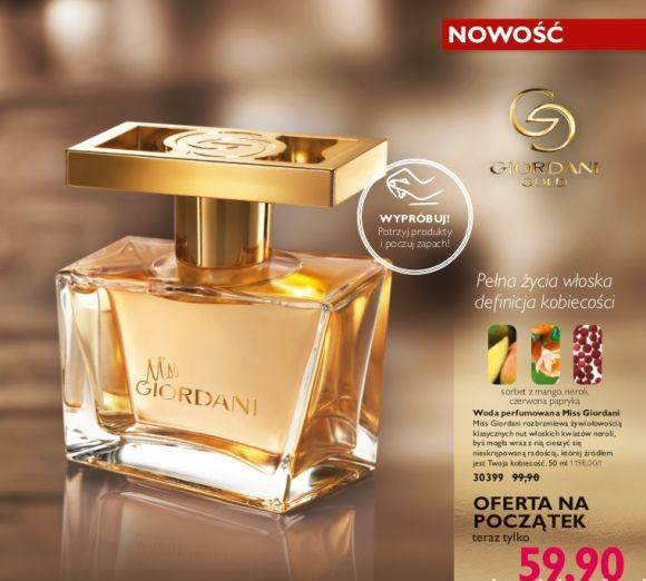 Miss giordani woda perfumowana