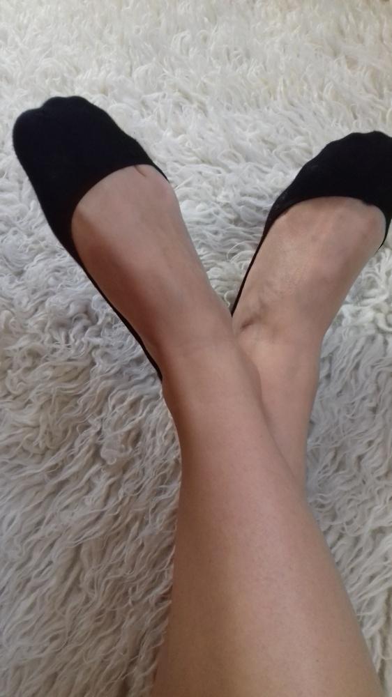 Czarne stopki Bawełna 38