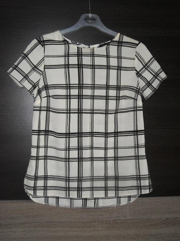 Bluzka w kratę new look 4 xxs