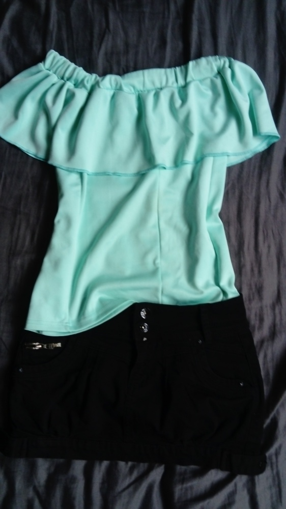 Zestaw spodnica plus hiszpanka S M