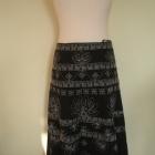 Elegancka kwiatowa spódnica 42 XL