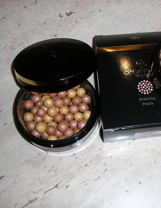 Puder w perełkach Giordani Gold Natural Bronze