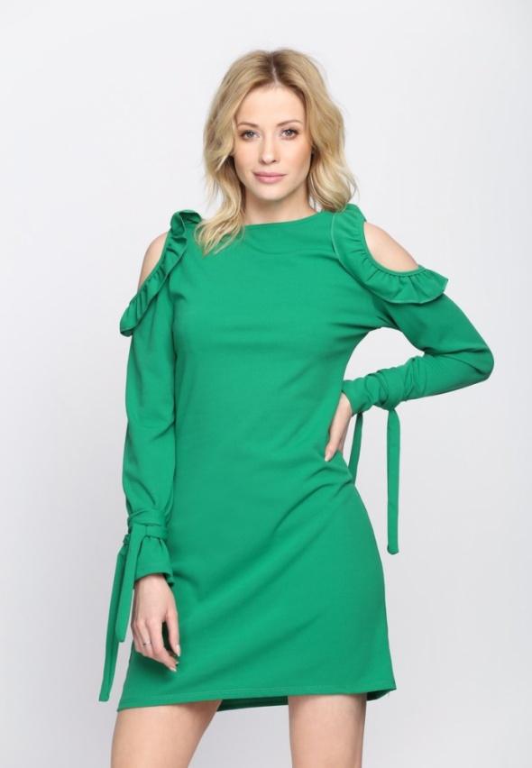 sukienak zielona NOWA