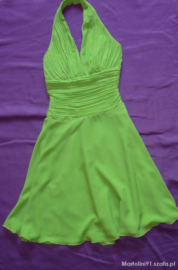 sukienkarozkloszowana na wesele 34 36 XS S...