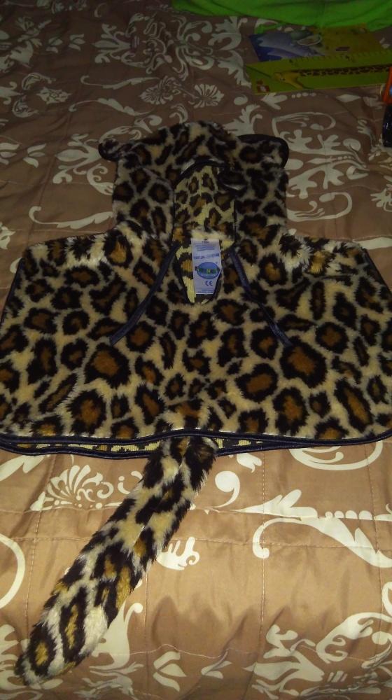 Strój karnawał geparda kotka