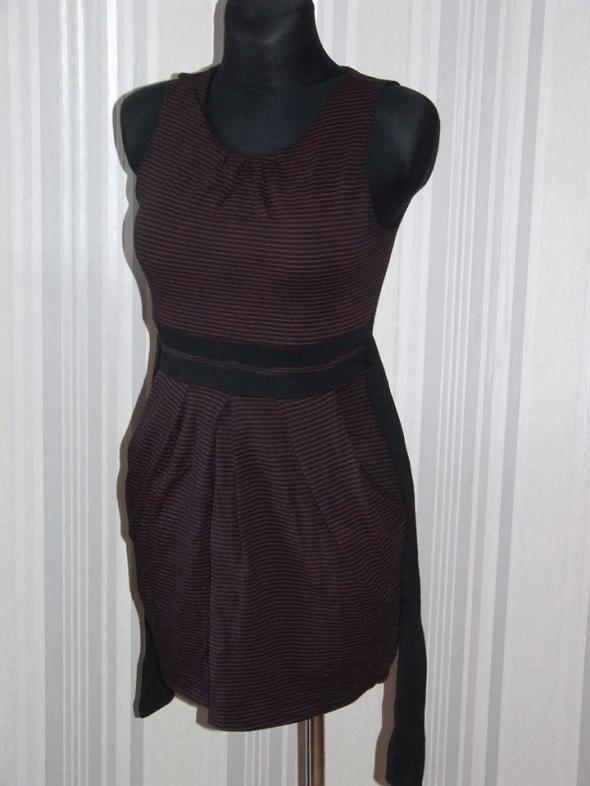sukienka w paski rozmiar S M