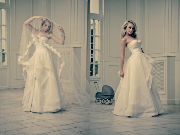 Papillon Suknia ślubna vie de Chateau 36 38