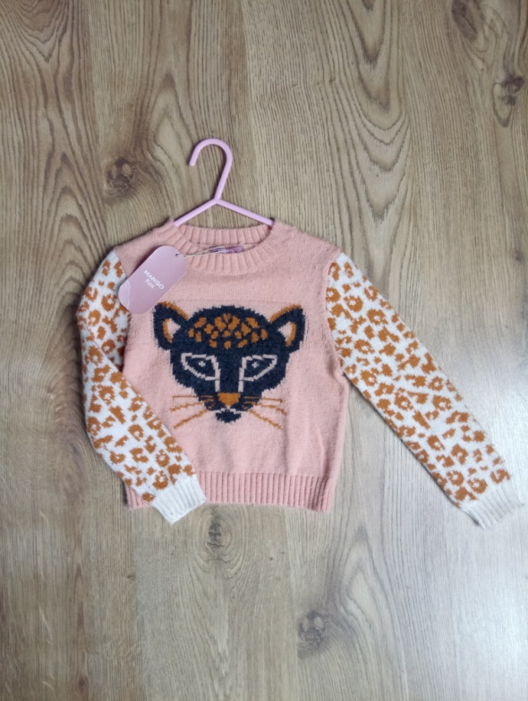 Polary Piękny sweterek MANGO KIDS
