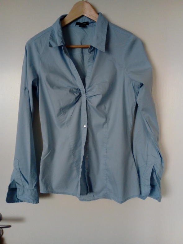 Koszula niebieska Amisu dłuższa 38 M