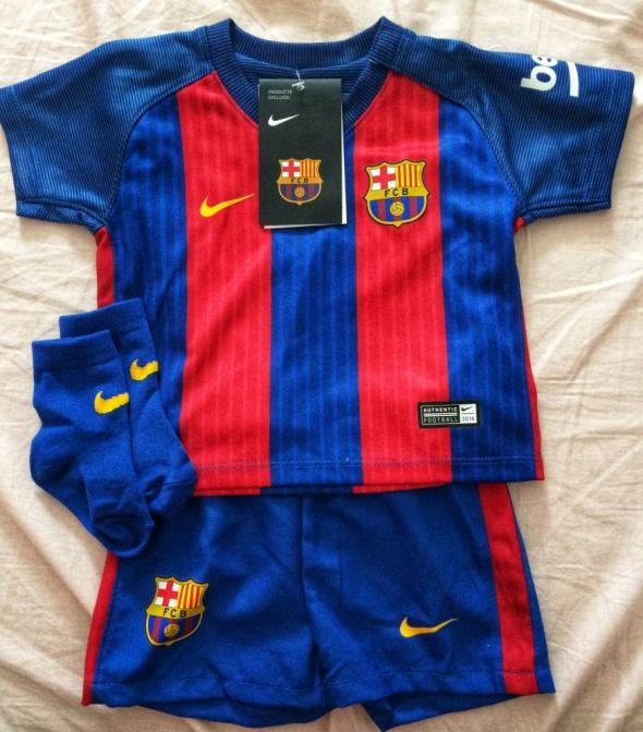 Nowy oryginalny strój piłkarski FC Barcelony