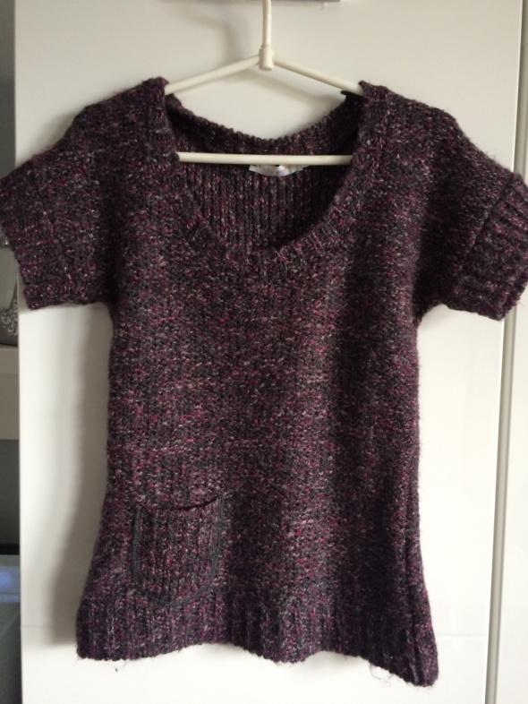 Bordowy Sweterek Bluzeczka Cache Cache 36 S...