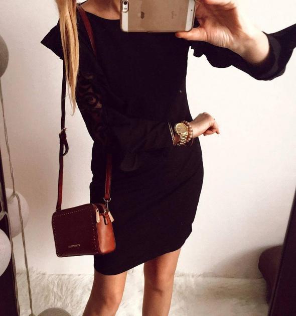Czarna sukienka Damska elegancka M