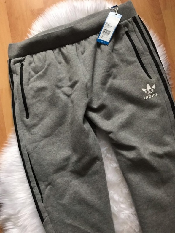 Szare dresy Adidas NOWE...