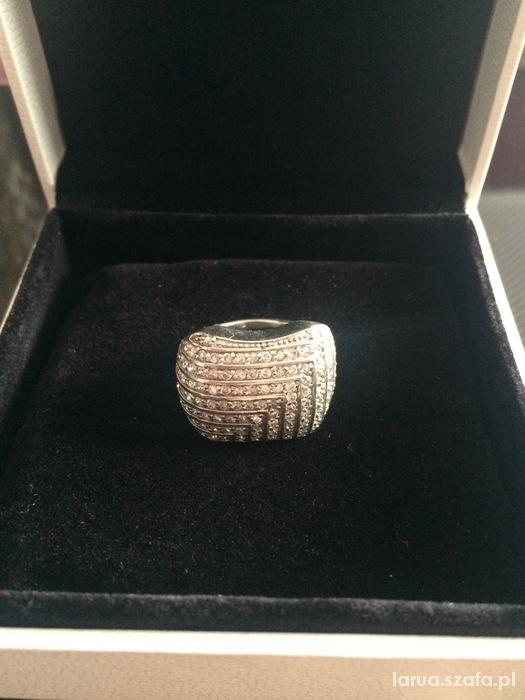 Pierścionek Apart cyrkonie piękny srebro...