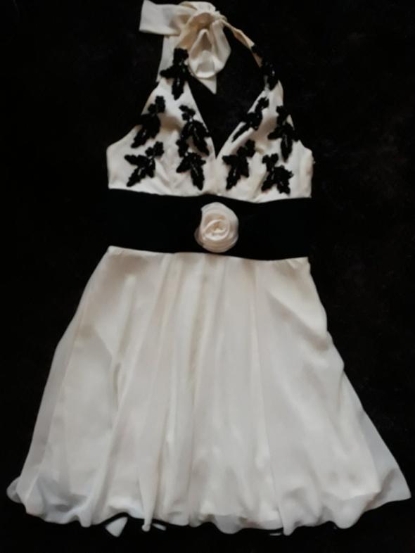 Jedwabna sukienka yoshe r38