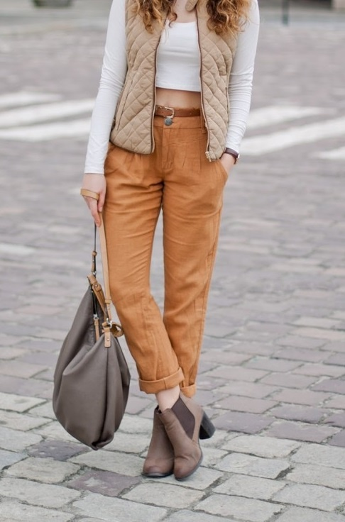 Rude spodnie haremki Vero Moda M...