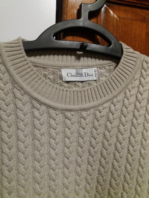 Sweter męski Dior NOWY