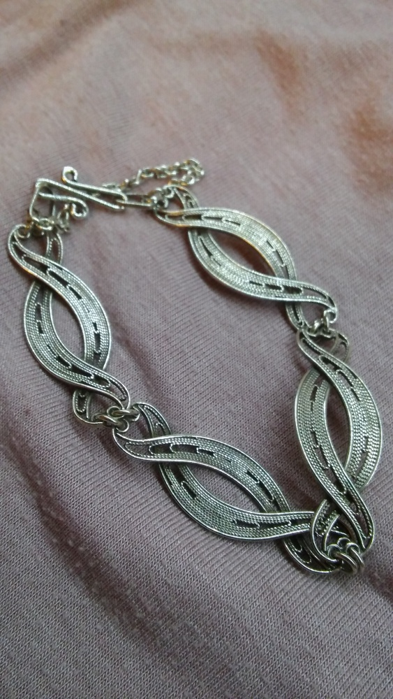 Imago artis filigran srebrna bransoletka