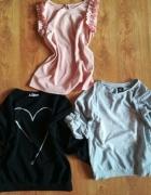 Szara bluza S