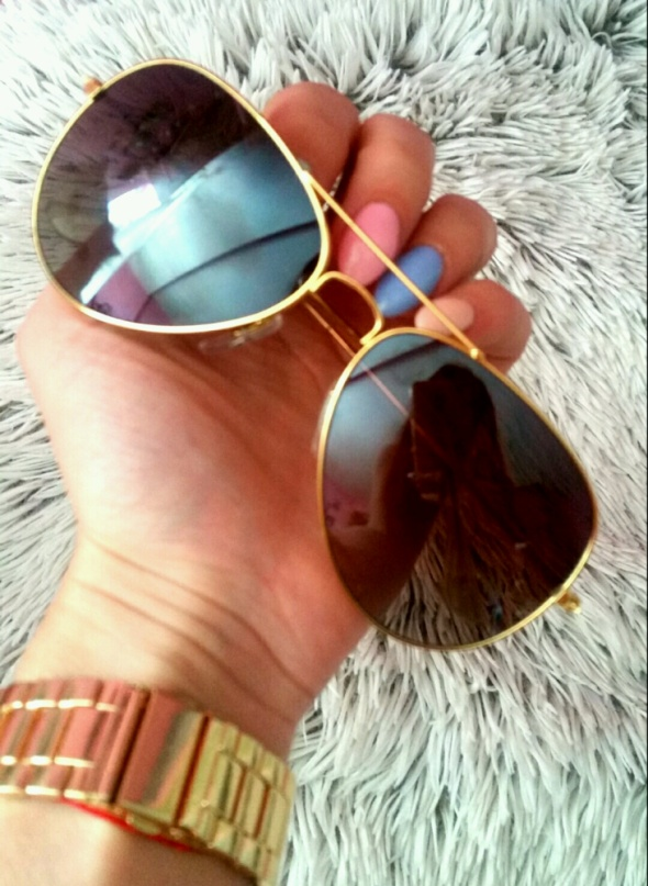 nowe okulary przeciwsłoneczne pilotki