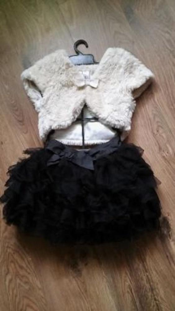 Komplet spódniczka tiulowa z kamizelką