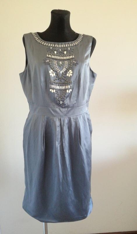 Sukienka Monsoon z jedwabiem 16 44