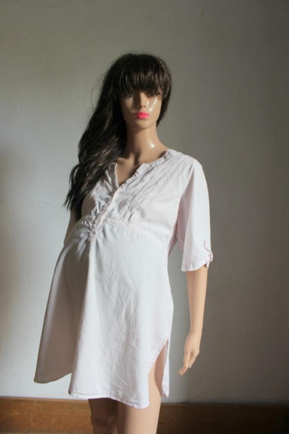 Koszula odcinana pod biustem w kolorze jasnego różu idealna na ...